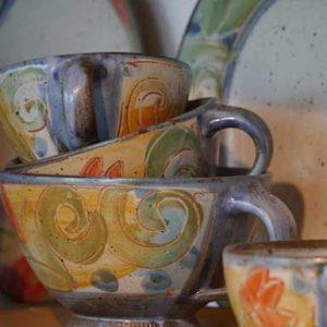 Tassen, Becher, Teeschalen